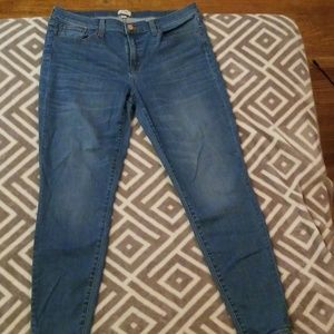 J Crew Toothpic jeans size 32